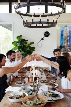 Club Monaco Athena Calderone - The Composition of Food & Friends