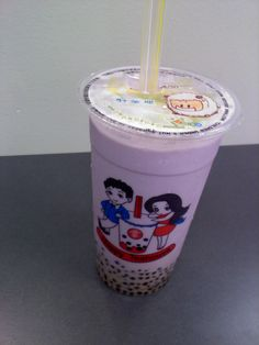 Bubble tea...I'm getting one of these as soon as I go back to the states!