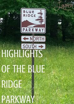 Highlights of the Blue Ridge Parkway