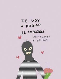 Ladrón de amor.