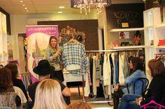 De Cielo Palma Showroom otoño-invierno - Verónica Gálvez, nuestra personal shopper explicando los mejores estilismos de la temporada para estar a la última en tendencias de moda y complementos. Podemos hacer que mejores tu estilo personal. Visítanos en www.palmashoppers.com