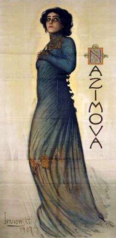 Alla Nazimova as Hedda Gabler