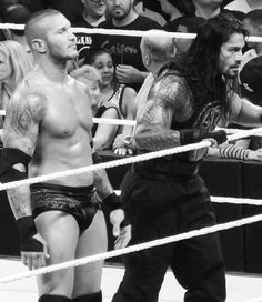 Randy Orton and Roman Reigns