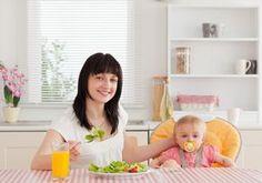 Dieta pós-parto: volte ao seu peso antigo com saúde