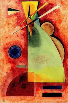 The creator of the first modern abstract paintings, Wassily Kandinsky Василий Кандинский was an influential Russian painter and art theorist. Art Kandinsky, Wassily Kandinsky Paintings, Abstract Expressionism, Abstract Art, Abstract Paintings, Inspiration Art, Art Abstrait, Art Design, Art History