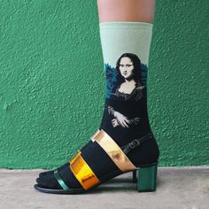 Hot Sox Collection Mona Lisa Trouser Sock | Photographed by David Kitz | Styled by Kate Brien