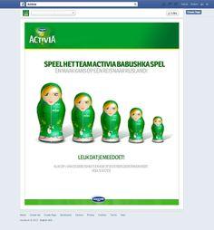 online - social viral game Team Activia op weg naar Sochi