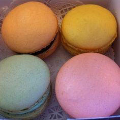 Macarons @ Le Panier Very French Bakery, Seattle