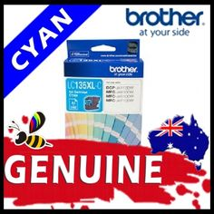 Brother LC135 Cyan High Yield Ink