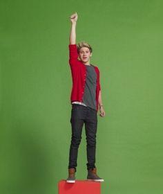 Niall Horan, hands up