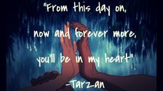 You'll be in my heart -Tarzan
