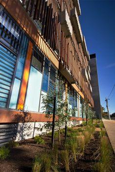 The Euneva Avenue Community Healthcare centre and Living Car Park in Melbourne is a FSC certified project.