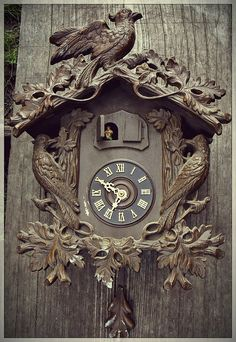Unusual Large Black Forest Cuckoo Clock