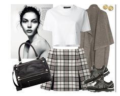 """""""My Thoughts"""" by mariaalovett ❤ liked on Polyvore featuring STELLA McCARTNEY, Carven, Dsquared2, Chanel and Givenchy"""