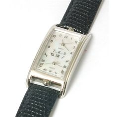 Dual Time Black Leather Strap Unisex Watch Crane. $44.95