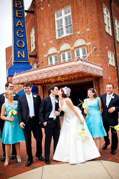 A Vintage Theatre Wedding by Katelyn James Photography