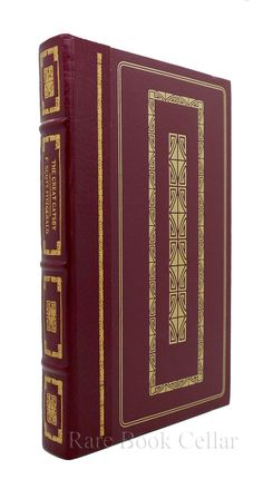 THE GREAT GATSBY, F. Scott Fitzgerald Franklin Library rare books
