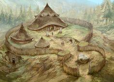 Walled village