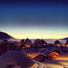 Avoriaz! Great joy in the French Alpes