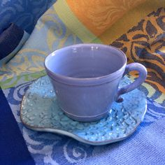 Ceramics made from the heart, beautiful delicate colours