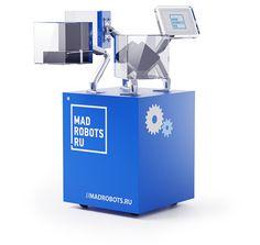 Madrobots exhibition equipment