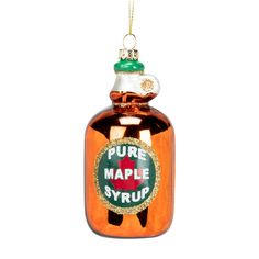 Abbott Collection: Syrup Bottle Ornament
