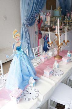 Cinderella Princess Birthday Party Dessert Buffet — The Iced Sugar Cookie Wedding Dress Cinderella, Cinderella Theme, Cinderella Birthday, Cinderella Princess, Princess Sophia, Princess Aurora, Princess Bubblegum, Cinderella Party Decorations, Cinderella Centerpiece