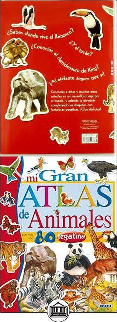 Mi gran atlas de animales con pegatinas Francisca Valiente ✿ Libros infantiles y juveniles - (De 3 a 6 años) ✿ ▬► Ver oferta: http://comprar.io/goto/8430555374