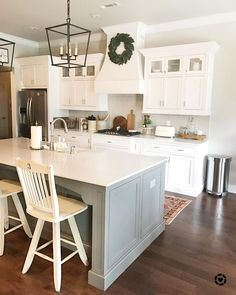 """3,463 Likes, 73 Comments - alicia our vintage nest (@ourvintagenest) on Instagram: """"I can't remember the last time I posted three times in one day! I've been laying low the past few…"""" #dreamkitchens"""