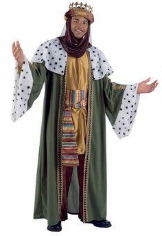 Disfraz de Rey Mago Baltasar de lujo adulto : Vegaoo, compra de Disfraces adultos. Disponible en www.vegaoo.es