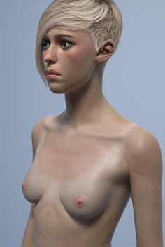 Yuri Alexander‎Lunchcrunch 13 hrs · Revamping pretty much everything. New body, face, textures, I think everything. Something wasn't clicking with the last one. Still things to be fixed but it's coming on easier now. Going to go for lankier and maybe more hard edged in the facial features. The hair is photobashed (why it looks like shit). One style I am thinking of, but I will probably try a couple others before I find one I like. http://i.imgur.com/onsBWY8.jpg