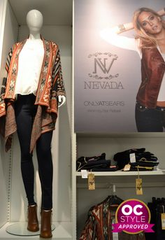 Casual weekend wear: NEVADA with Bar Refaeli - Oshawa Centre Style Approved by - Find it at Sears Casual Weekend, Weekend Wear, Bar Refaeli, Nevada, Centre, How To Wear, Style, Swag, Stylus