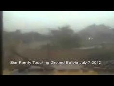 UFO AMAZING CLOSE TO THE GROUND CIVILIZATIONS CONTACT IN BOLIVIA 7.7.2012
