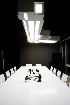 Take Two game developer headquarters meeting room