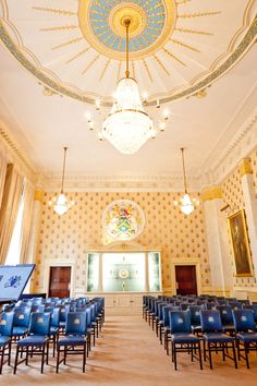 Wedding Ceremony at Saddlers' Hall