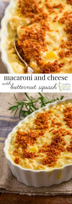Macaroni and Cheese with Butternut Squash. This comfort food recipe ...