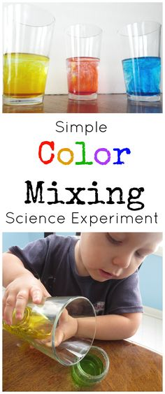 Color Mixing Science Experiment