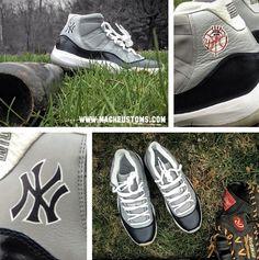 Foamposites Yankees
