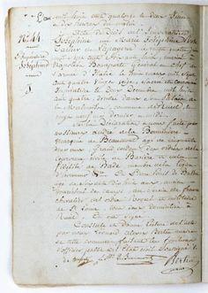 Acte de décès de l'impératrice Joséphine, Rueil-Malmaison