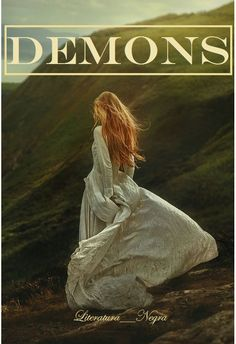 Portada de la novela DEMONS aun en proceso.