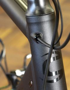 steel bike internal cable routing - Google Search