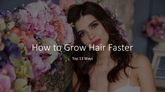 Top 13 Ways How to Grow Hair Faster.... This video is to show you Top 13 Ways  This is my proven favorite Ways in United State of America / USA on How to Grow Hair Faster to use because it is so simple & easy to apply and yet it is one of the strongest Ways How to Grow Hair Faster! How To Grow Your Hair Faster, Grow Hair, Hair Loss, How To Apply, America, Usa, Simple, U.s. States, Hair Growth
