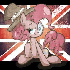 Pinkie keeping it classy.