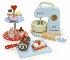 Love this baking set. It comes with all these cool pieces. Fair trade and sustainable wood.