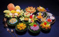 Thai food presentations