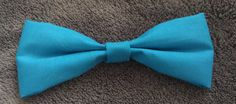 CLASSIC BLUE HAIR BOW - available on therubypig.com