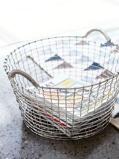 Korbo Handmade Wire Basket, Classic 35