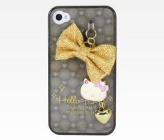 iPhone4 Case with Charm: Black #Glimpse_by_TheFind