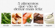 TOP 5 alimentos para te fazer muito mais feliz =) =) =) !!! http://abr.ai/1e5fqgf