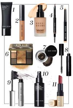 Trend-Make-up: Herbst-Look mit Bobbi Brown Bobbi Brown Makeup Looks, Bobby Brown Makeup, Wet N Wild, Rimmel, Dupes, Revlon, Bobbie Brown, Simple Everyday Makeup, Cool Iphone Cases